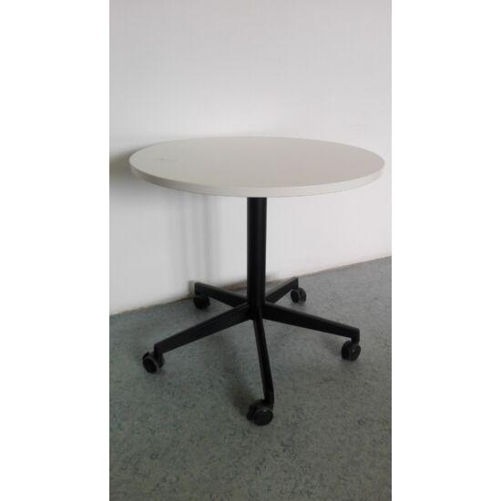 Steelcase kerek tárgyalóasztal/ görgős Blue-6496