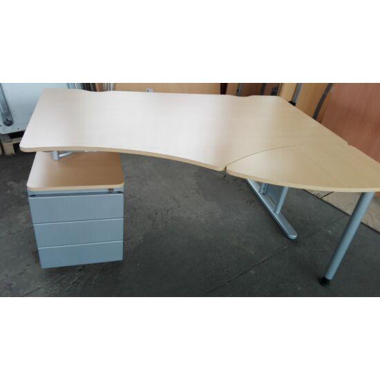 Steelcase írókasztal konténer alátámasztással - EY-10/KO