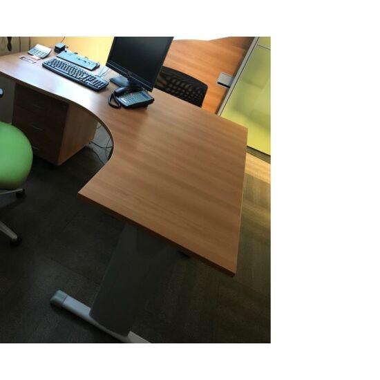 L alakú irodai asztal CH-09