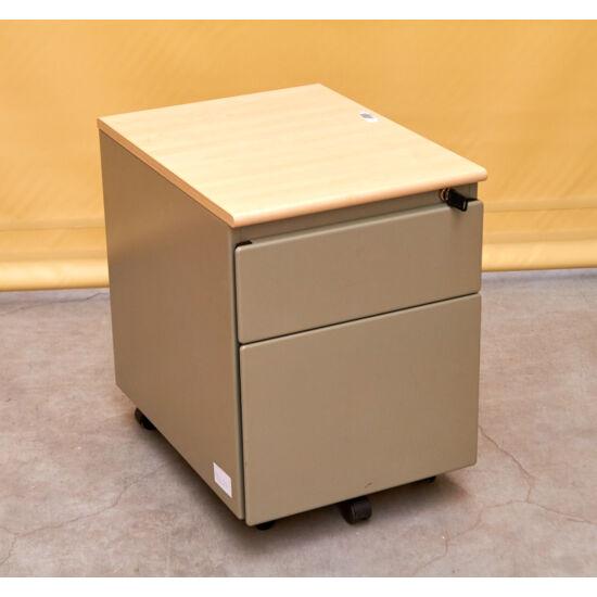 Steelcase fém görgős konténer  MS-23