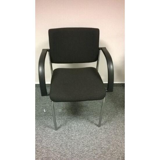 Vendég szék négy lábbal rakásolható     LO-23
