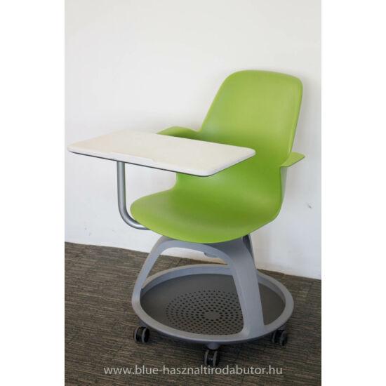 Node iskolai görgős írótáblás  szék   ST-74