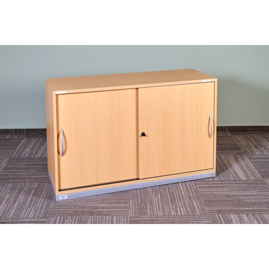 Steelcase laminált tolóajtós szekrény - EY-36