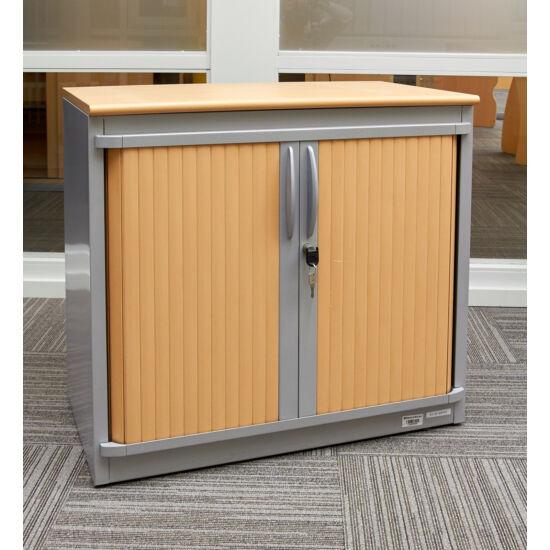 Steelcase laminált redőnyajtós szekrény - EY-38
