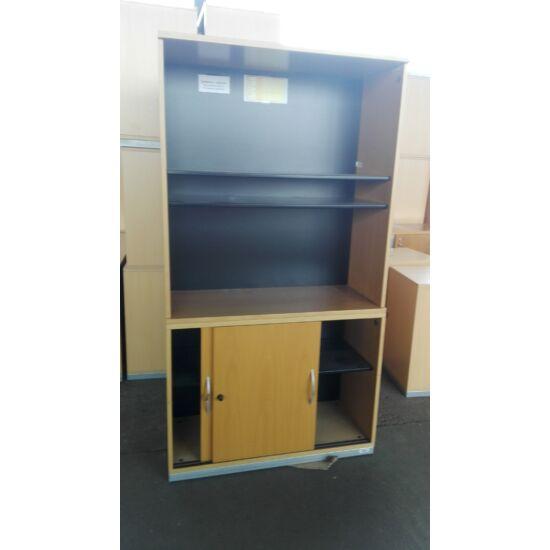Steelcase laminált  vitrines szekrény - EY-41
