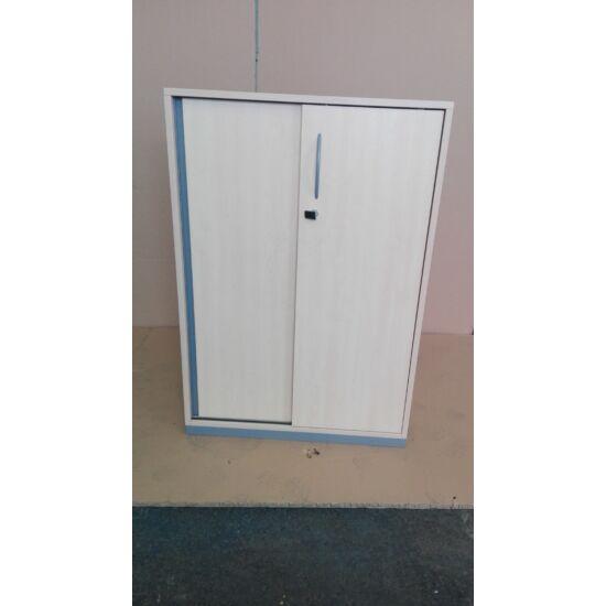 Steelcase laminált  tolóajtós szekrény GE-01