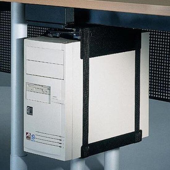 Asztal alá rögzíthető PC tartó