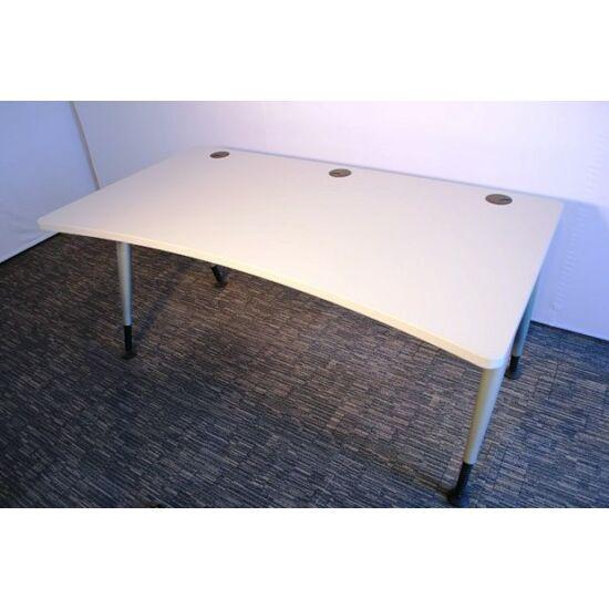 Ívelt egyenes asztal - ÚJ! - AEI-104