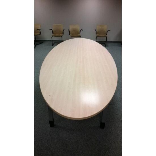 Ovális tárgyaló asztal   LO-07