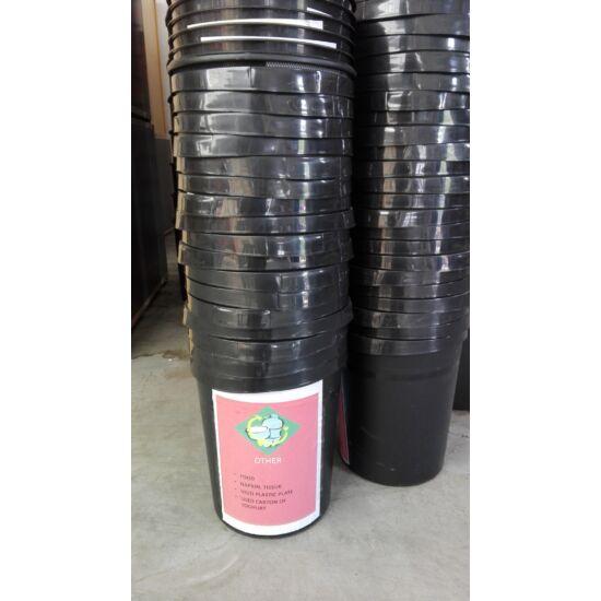 Műanyag szelektív szemetes SZEM-01